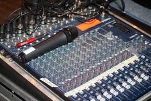 Audio Interface mit Mischpult