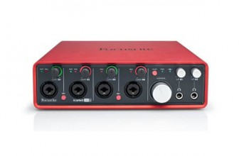 Focusrite Scarlett 18i8 Test